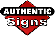 Authentic Signs